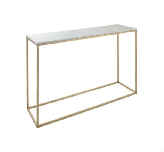 Faceby-brushed-gold-finish-marble-console-listbild