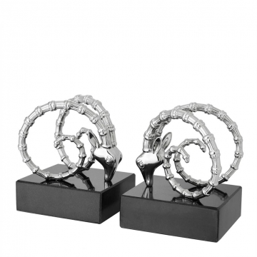 Bookend-ibex-set-of-2-silver-2