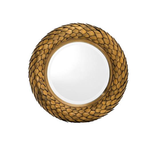 Mirror-laurel-vintage-brass-finish-1