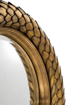 Mirror-laurel-vintage-brass-finish-4
