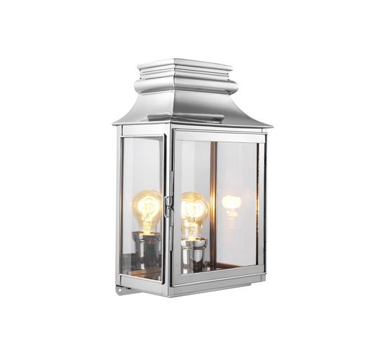 Vägglampa Primo Nickel L