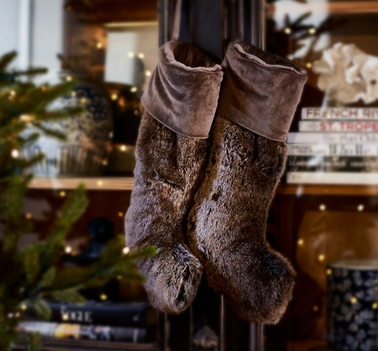 Whistler-brown bear christmas stocking listbild