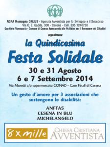 15a Festa solidale opu