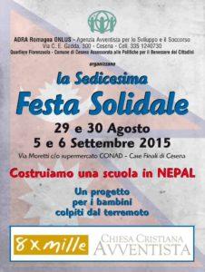 16a Festa solidale opusc