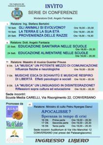 Conversano - Serie conferenze - scuola+chiesa 2015