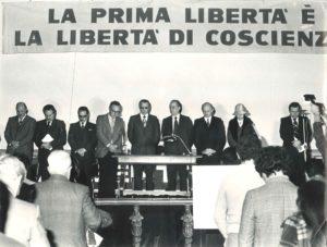 Manifestazione liberrta religiosa Roma 1977-1