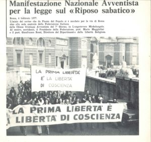 Manifestazione liberrta religiosa Roma 1977-6