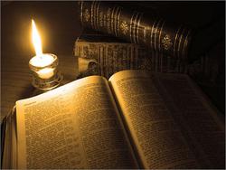 bibbia e luce
