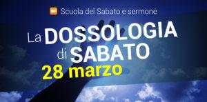 Servizio di culto online di sabato 28 marzo