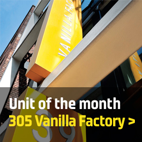 Unit of the month: 305 Vanilla Factory, Liverpool