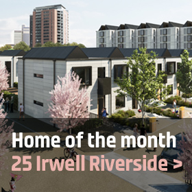 Hoem of the month: 25 Irwell Riverside