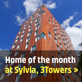 Home of the month - 1201 Sylvia, 3Towers, Manchester