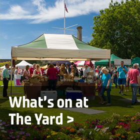 What's on at the Yard