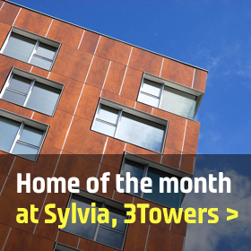Home of the month: 1201 Sylvia, 3Towers, Manchester