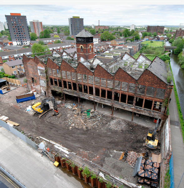 Site update at Stubbs Mill