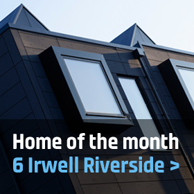 Home of the month: 6 Irwell Riverside, Salford