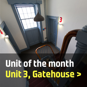 Unit of the monmth: Unit 3, Gatehouse, Plymouth