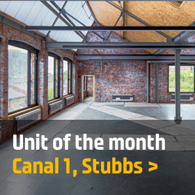 Unit of the month: Canal 1, Stubbs, New Islington, Manchester