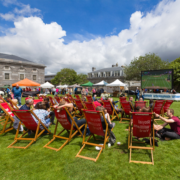 Packed summer at Royal WIlliam Yard