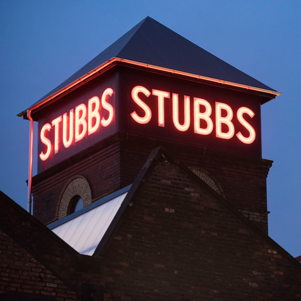Stubbs in lights