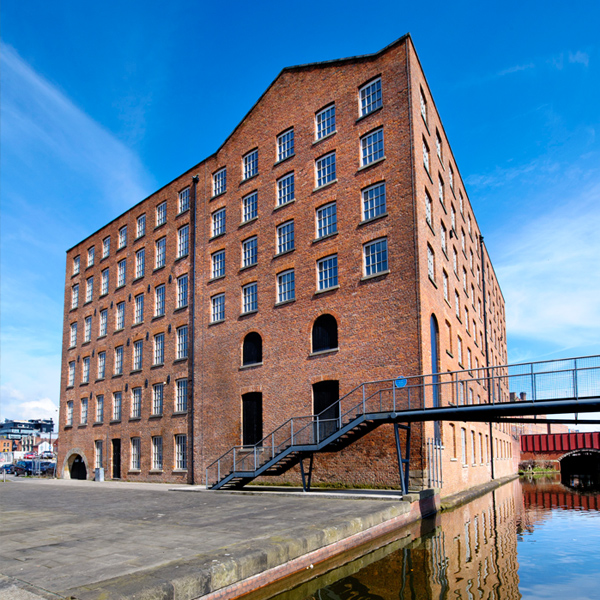 New loft apartments at Brownsfield Mill in Manchester