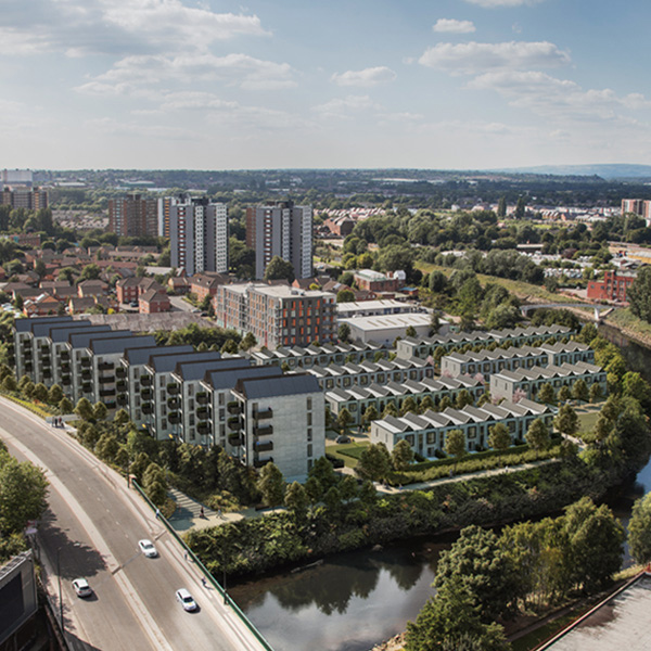 Three storey hoUSes a sellout at Irwell Riverside