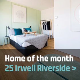 Home of the monht: 25 Irwell Riverside
