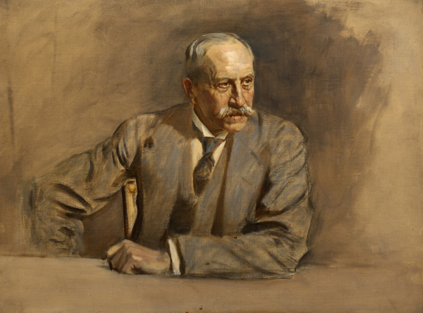Sir Alfred Milner, 1st Viscount Milner, 1854 - 1925. Statesmen. (Study for portrait in Statesmen of the Great War)