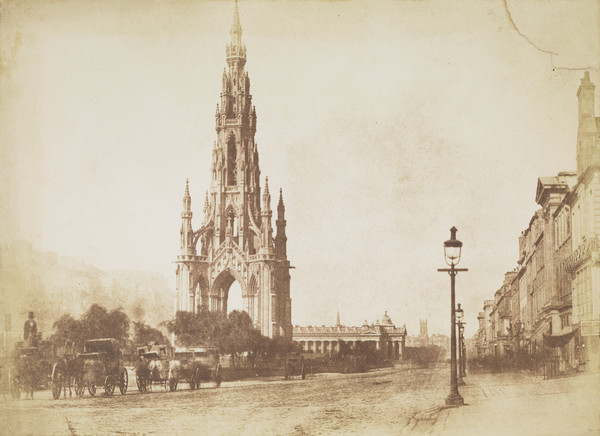 Princes Street with the Sir Walter Scott Monument [Edinburgh 9]