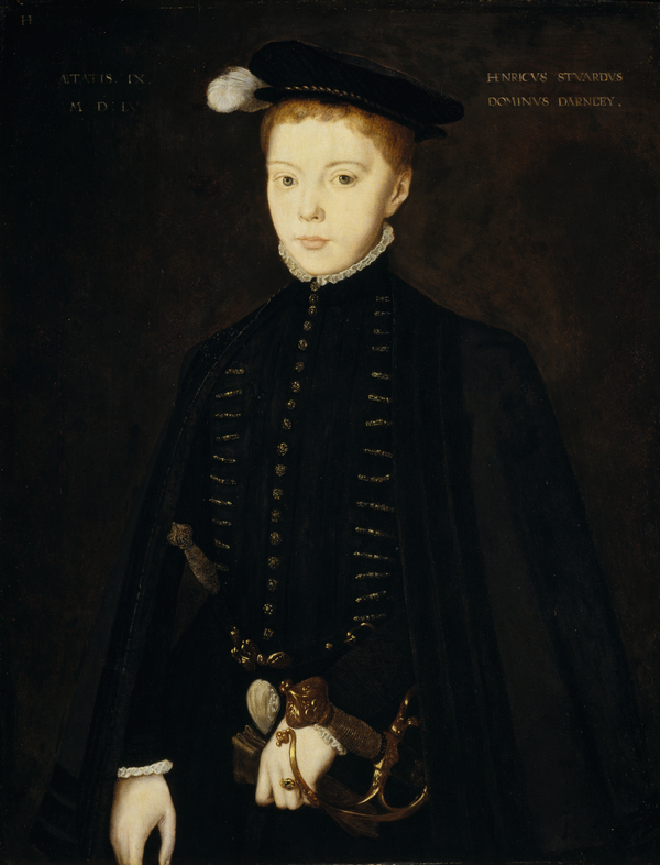 Henry Stuart, Lord Darnley, 1545 - 1567. Consort of Mary, Queen of Scots