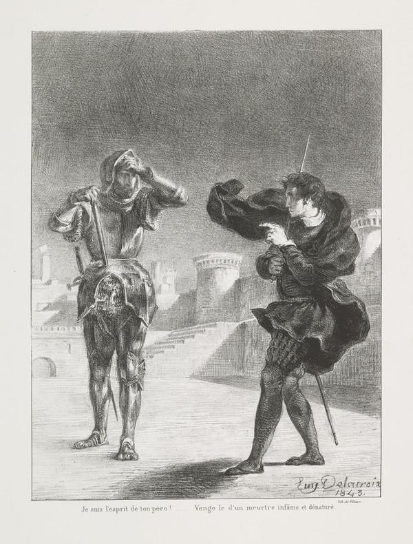 Le Fantome sur la Terrasse' (The Ghost on the Battlements) (Act I, Scene V)