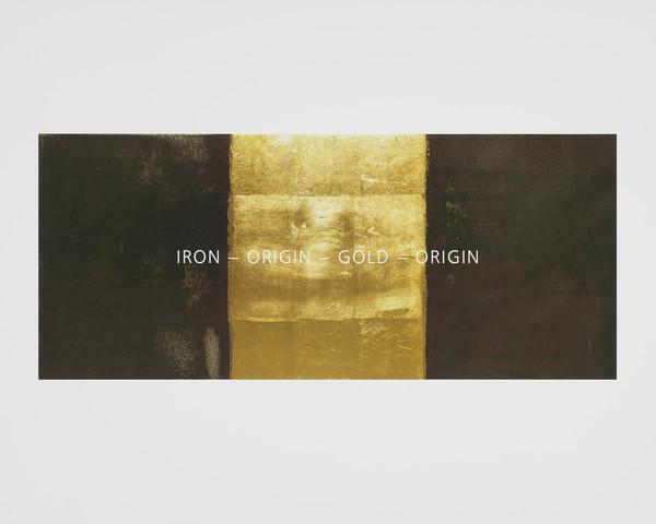 Iron - Origin - Gold - Origin (from the portfolio Travaux Publics, Public Works)