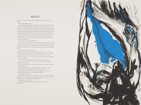 Wolf (from 'The Scottish Bestiary')