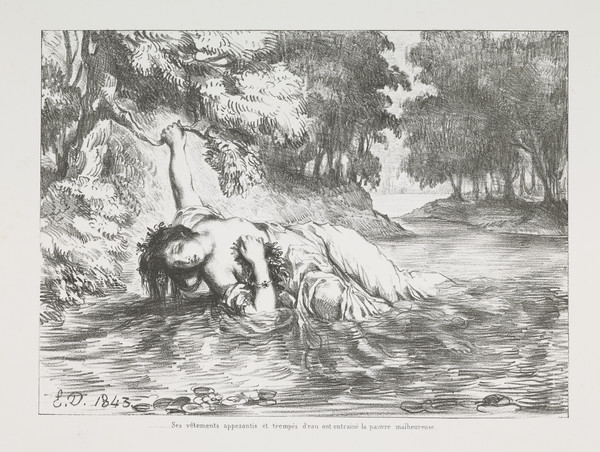 Mort d'Ophelie' (Ophelia's Death) (Act IV, Scene VII)