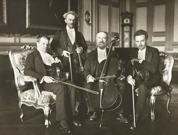 Gewandhaus Quartet, 1921 (1921)