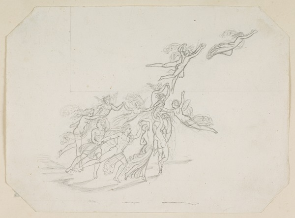 Fairies Dancing and Flying. Study for the Painting 'The Quarrel of Oberon and Titania'