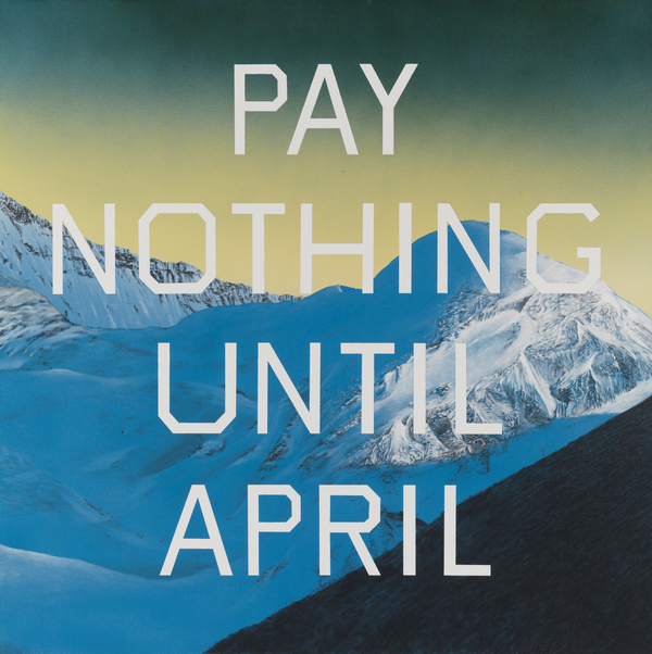 Pay Nothing Until April
