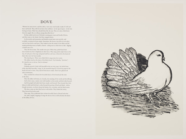 Dove (from 'The Scottish Bestiary')