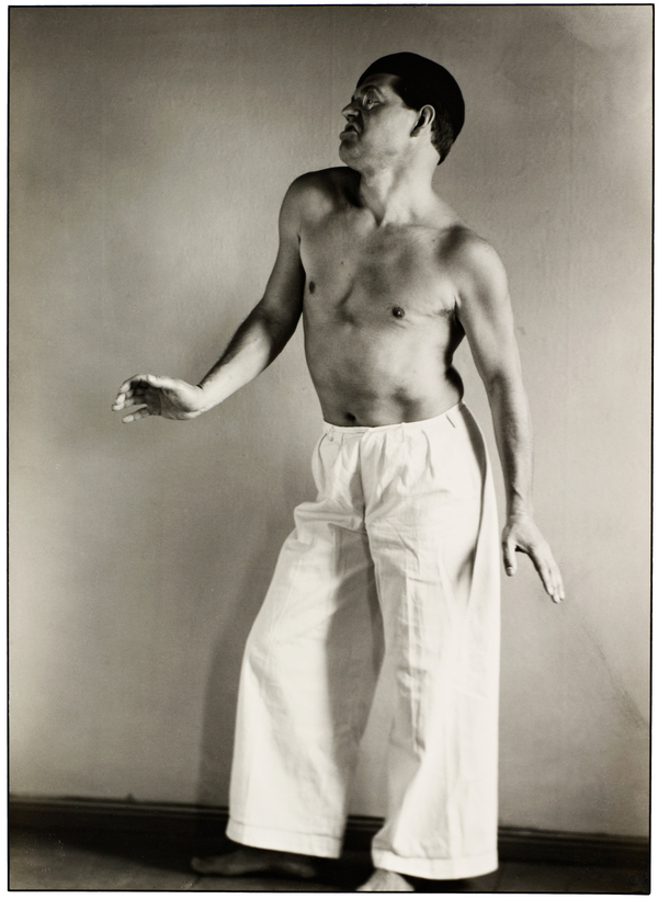 Raoul Hausmann als Tänzer [Raoul Hausman as Dancer], 1929 (1929)