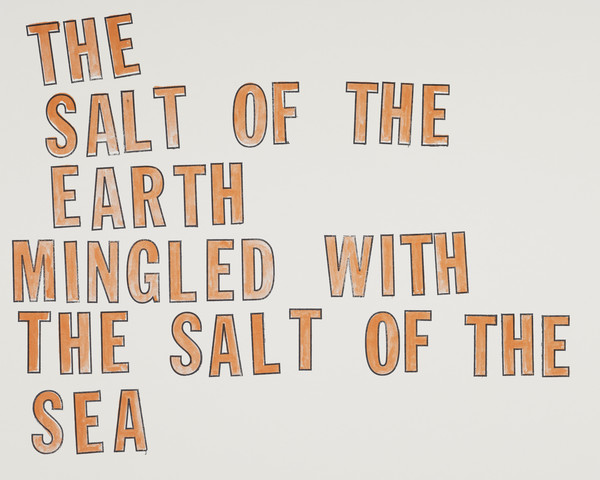 The Salt of the Earth mingled with the Salt of the Sea, 1982 - 1996  (from the portfolio Travaux Publics, Public Works)