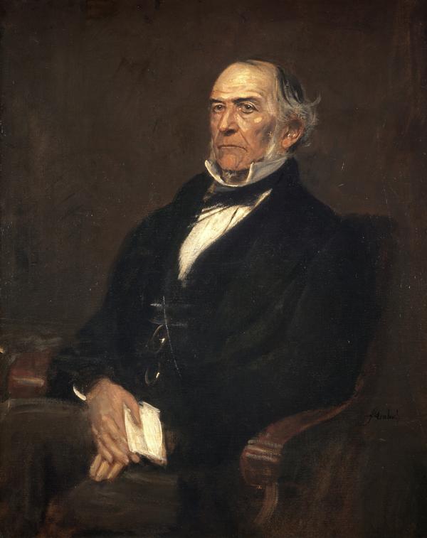William Ewart Gladstone, 1809 - 1898. Liberal statesman and author