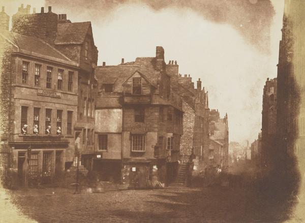 The High Street with John Knox's House [Edinburgh 1]