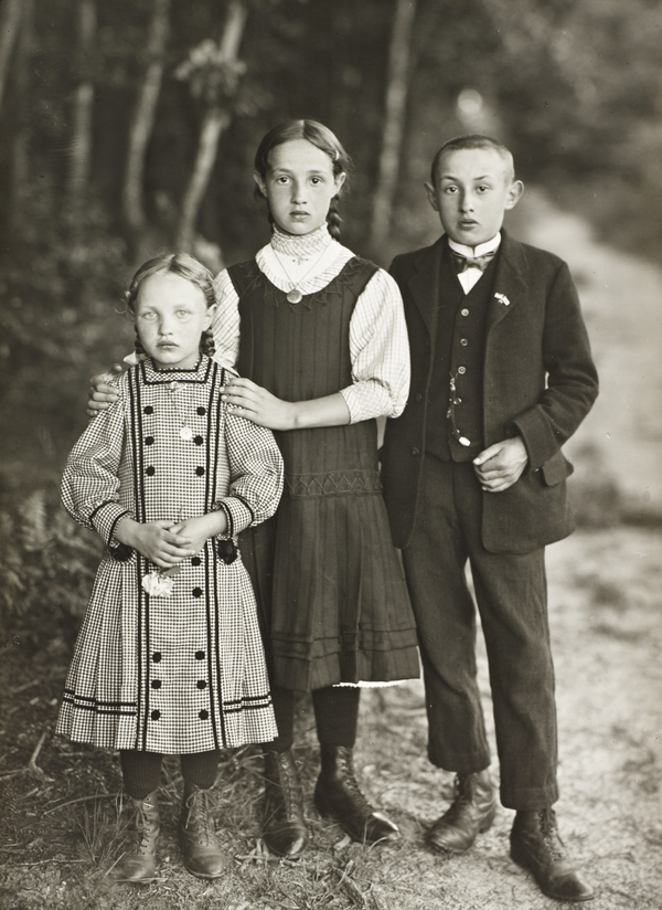 Three Siblings, c.1928-30 (about 1928 - 1930)