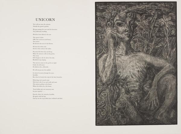 Unicorn (from 'The Scottish Bestiary')