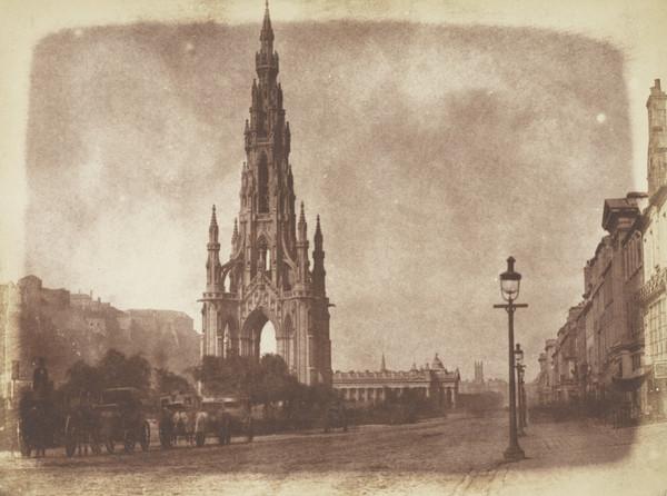 Princes Street with the Sir Walter Scott Monument [Edinburgh 9]