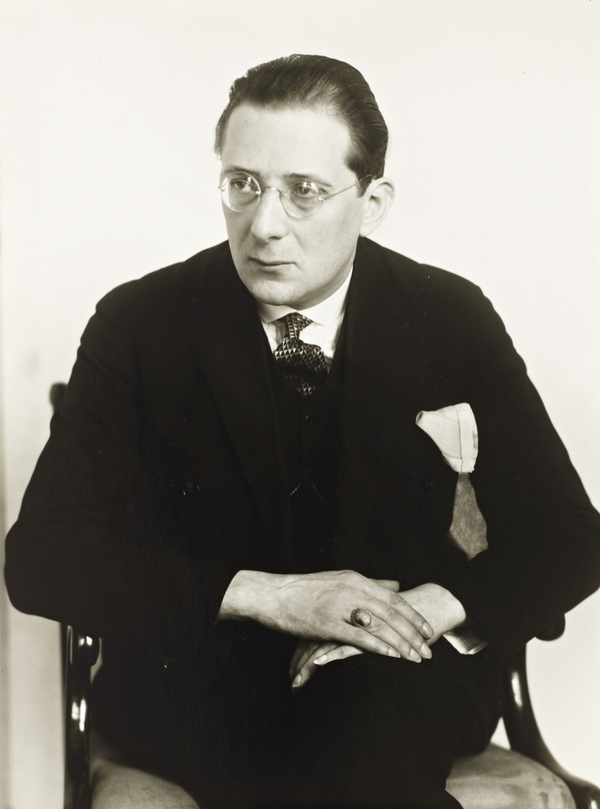 Writer and Theatre Critic [Franx Paul Brückner], about 1926 (about 1926)