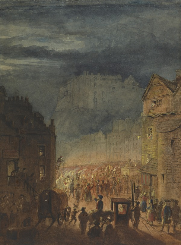 The Porteous Riots, A Scene from the Heart of the Midlothian