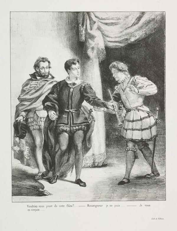 Hamlet et Guildenstern' (Hamlet and Guildenstern) (Act III, Scene II)