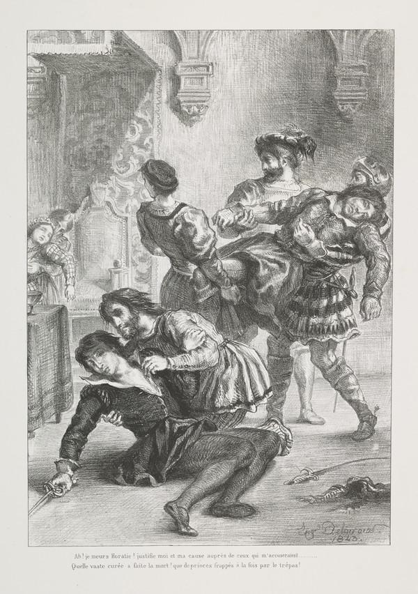Mort d'Hamlet' (Hamlet's Death) (Act V, Scene II)
