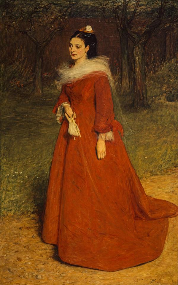 The Artist's Wife (Ellen Moxon, Lady Orchardson, c 1854 - 1917)